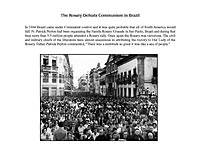 The Rosary Defeats Communism in Brazil